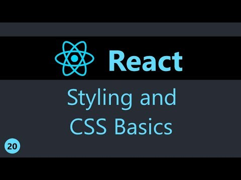 Download  ReactJS Tutorial - 20 - Styling and CSS Basics Gratis, download lagu terbaru