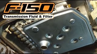2016 F150: Transmission Fluid and Filter (6R80)