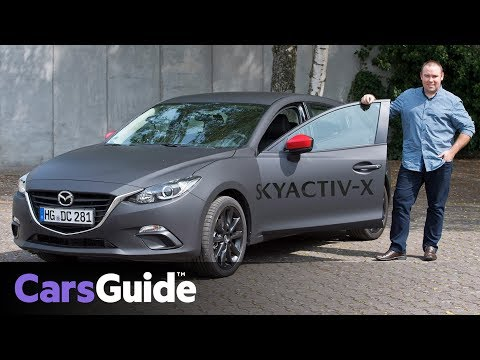 Mazda 3 2019 Review Skyactiv X Preview Drive