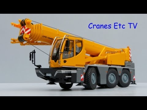 Cranes Etc TV: Conrad LTC 1045-3.1 Mobile Crane Review