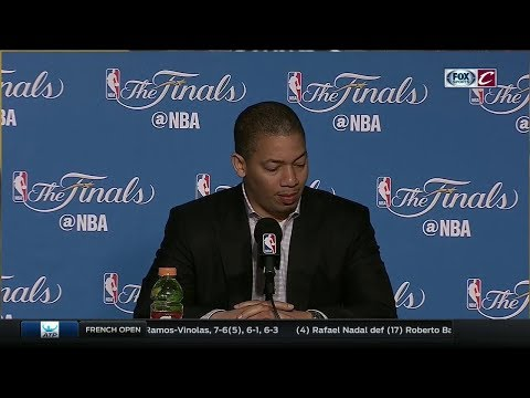 Tyronn Lue postgame press conference | Game 2 | NBA Finals