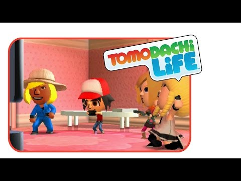 The power of VIDEO GAMES! | Tomodachi Life