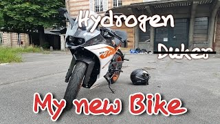 KTM RC 125 - My new bike