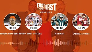 First Things First Audio Podcast (10.8.19)Cris Carter, Nick Wright, Jenna Wolfe | FIRST THINGS FIRST