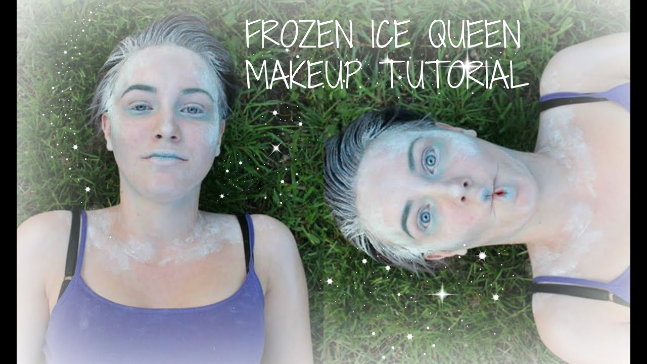 Frozen Ice Queen Makeup
