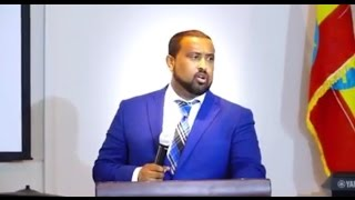 Pastor Dawit Molalign - Praching at Ethiopian Evangelican Church UAE