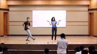 Amazing Dance Performance VIT | Kung Fu Kumari Song Bruce Lee