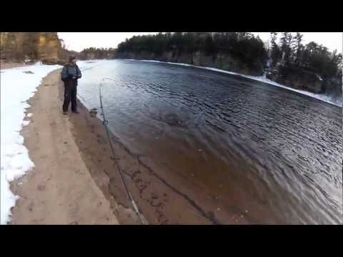Wisconsin River Walleye fishing
