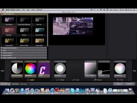 how to add magic bullet looks to after effects