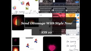 How to Use iMessage Effects in iOS 10 With Full Explanation