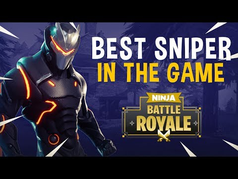 Best Sniper In The Game?! - Fortnite Battle Royale Gameplay - Ninja