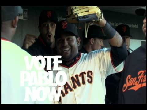 VOTE FOR PABLO - Dance! Video