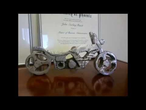 Hot babe motorcycle that looks like a naked woman