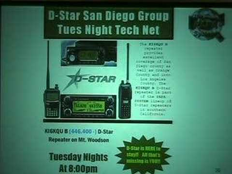 D-Star San Diego Group Tuesday Night Tech Net