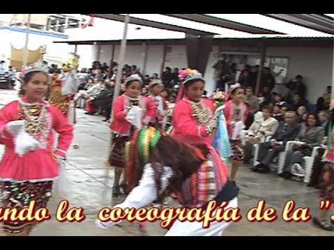 Pallas Infantiles de la Virgen del Carmen, 2010. Llata, Huamal�es, Hu�nuco, Per�.