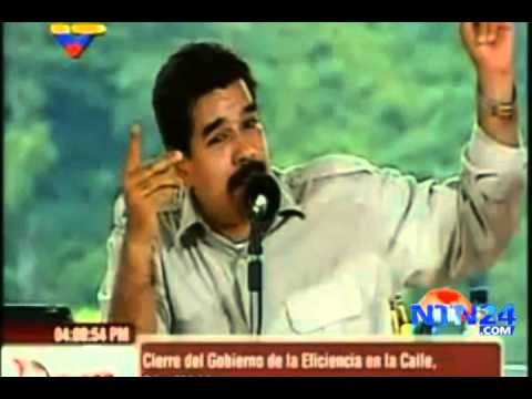media youtube maduro mitin silvido