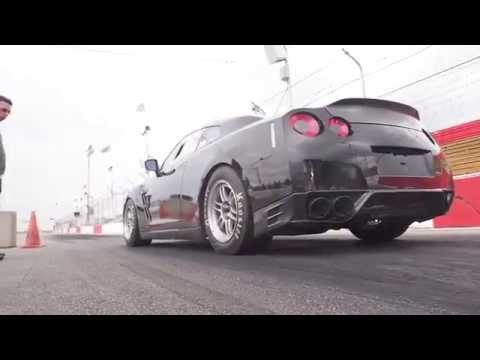 Nissan Gtr Black Zilla During Testing Phase video