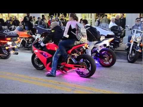 Daytona Bike Week 2013 | Mainstreet / Kawasaki - Suzuki Poser