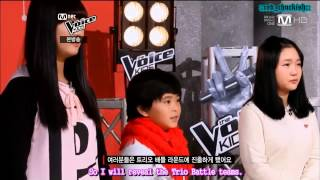 [ENGSUB] 130118 Voice Kids - Yoseop & Sagang cute moment cut
