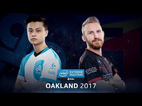 CS:GO - Cloud9 vs. FaZe [Train] Map 1 - Semifinal - IEM Oakland 2017