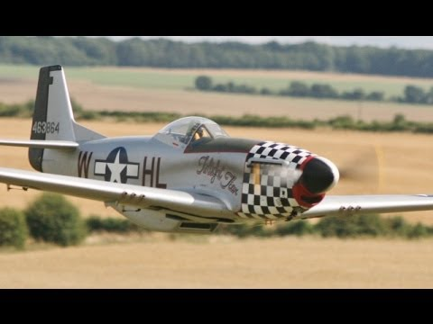 LARGE SCALE RC BUD NOSEN P51D