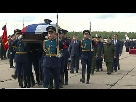 Супруги из Франции передали награды семье погибшего в Сирии россиянина
