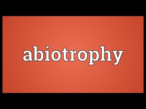Header of abiotrophy