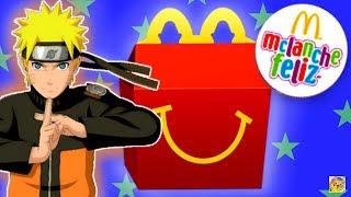 MCLANCHE FELIZ DO NARUTO SHIPPUDEN DO JAPÃO! Minha Coleção (ハッピーセット ナルト 疾風伝) - McDonald's Brinquedos