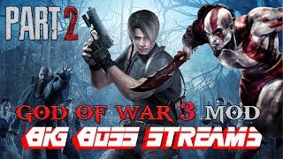BigBoss Streams Resident Evil 4   GOD OF WAR 3 MOD Professional Difficulty Part 2