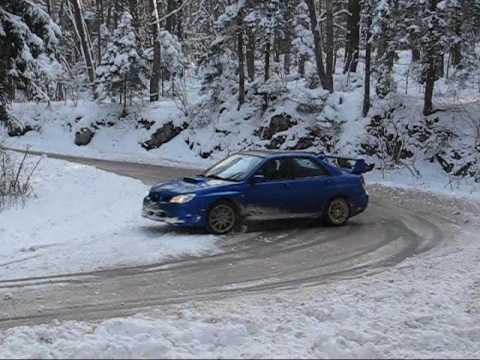 Matej Zagar Impreza Snow Drift Youtube