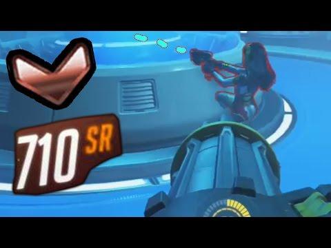 Overwatch Bronze Moments #8 - Drunk D.Va VS Bastion