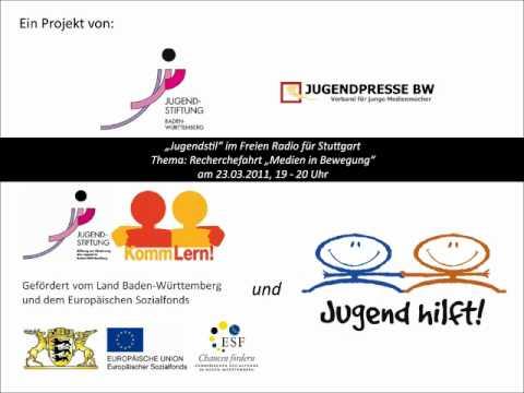 Radiosendung im Freien Radio für Stuttgart - Medien in Bewegung