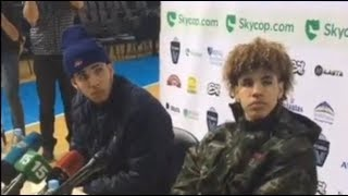 LaMelo Ball, Liangelo Ball Reacts To Their First Game As a Pro In Lithuania, Ball Brothers Lithuania
