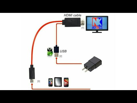 How to connect smartphones to TV