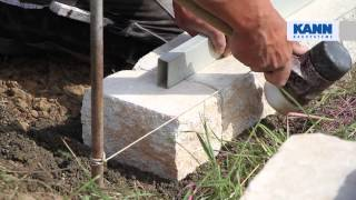 Anleitung: Aufbau der Vigneto-Mauer