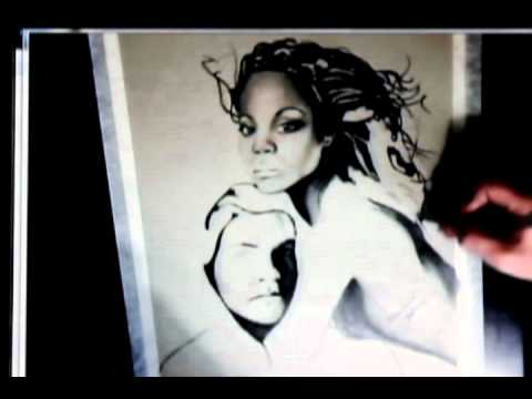 Speed Drawing Zoe Saldana and Sam Worthington