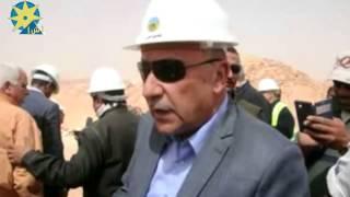 بالفيديو: وزير الاسكان  يتفقد مدينة توشكى الجديدة  جنوب الوادى