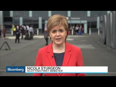 Scottish First Minister: We May Seek Independence Vote If Brexit Happens