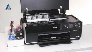 How to install CISS for Epson Stylus Photo R3000 printer from INKSYSTEM? Tutorial
