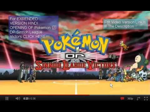 Pokemon Sinnoh League Victors Theme Song In Hindi video