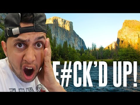 A DJs Worst Nightmare (FORGOT A GIG!) | Photography in YOSEMITE National Park (We Messed Up!)