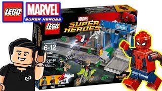 LEGO Spiderman Homecoming Atraco al cajero Automatico Set 76082 Review y Unboxing