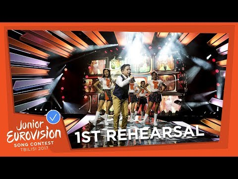 MALTA 🇲🇹 - EXCLUSIVE REHEARSAL FOOTAGE - GIANLUCA CILIA - DAWRA TOND - JUNIOR EUROVISION 2017