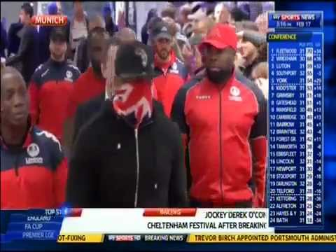 Dereck Chisora slaps Vitali Klitschko at Weigh In