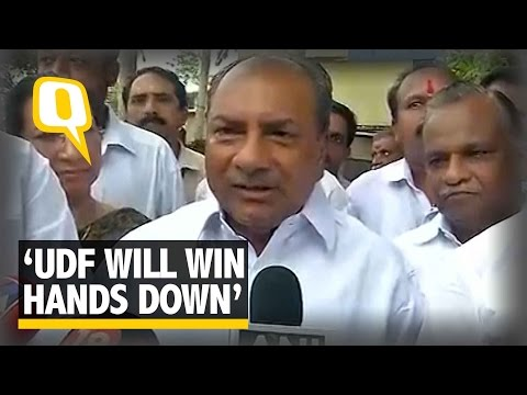 The Quint: AK Antony on Kerala Assembly Elections