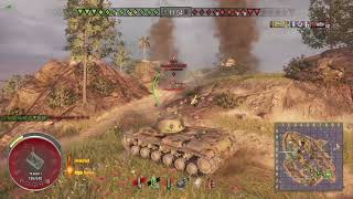 World of Tanks Xbox one KV-1 6 Kills