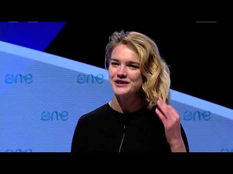 Natalia Vodianova at Women'Up: One Young World Summit 2012