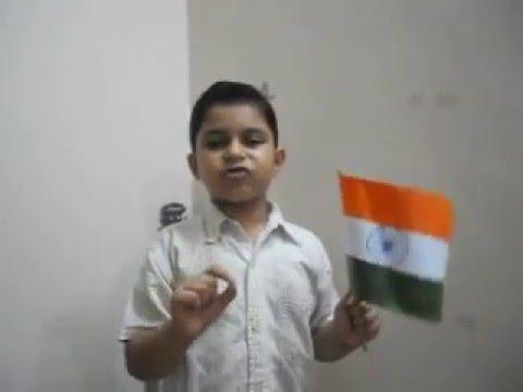 Khooni Hastakshar -  A Motivational Patriotic Poem - India!