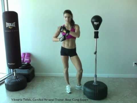Boxing Workout to Burn Fat-Reflex Bag by Everlast
