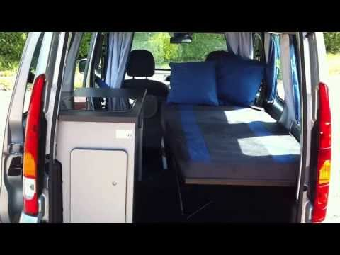 Renault Kangoo Campervan for sale via Ebay with mikeedge7
